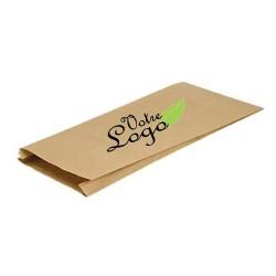 sac sandwich kraft brun avec fenêtre personnalisé