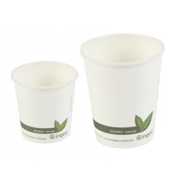 Gobelet carton biodégradable pour boissons chaudes
