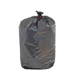 Sac poubelle avec liens de fermeture