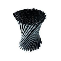 Pailles plastiques à coktail