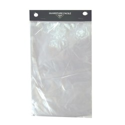 Sac liasse transparent 23x31cm