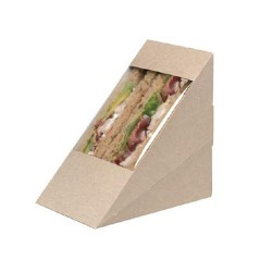 Boite sandwich club kraft