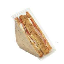 Boite club sandwich triangle double